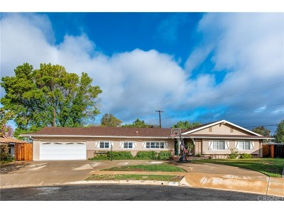 Thousand Oaks Single Family Home For Sale: 1166 Essex Way