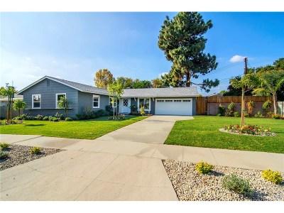 West Hills Single Family Home Sold: 7509 Kentland Avenue