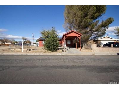 Rosamond Single Family Home For Sale: 1537 West Rosamond Boulevard