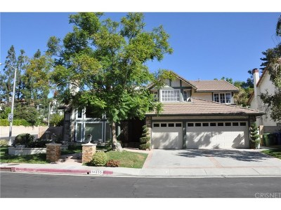 Porter Ranch Single Family Home For Sale: 18235 Chatham Lane