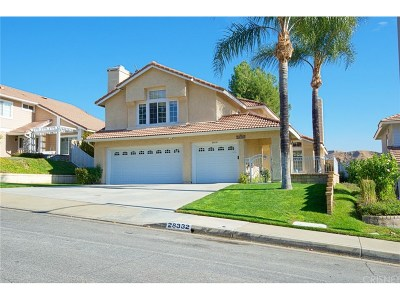 Saugus Single Family Home For Sale: 28332 Maxine Lane