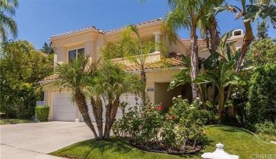 Calabasas Single Family Home For Sale: 4285 Park Verdi