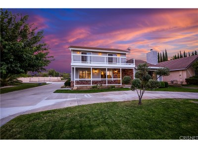 Quartz Hill CA Single Family Home For Sale: $449,990