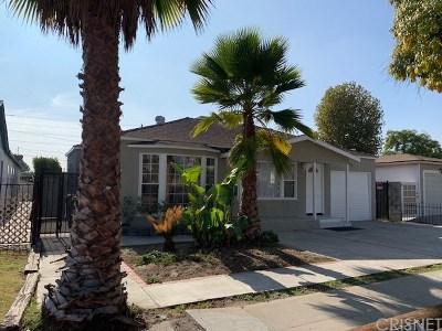 North Hollywood Single Family Home For Sale: 11118 Emelita Street