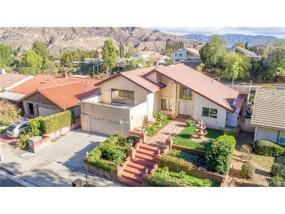 Porter Ranch Single Family Home For Sale: 11930 Stewarton Drive