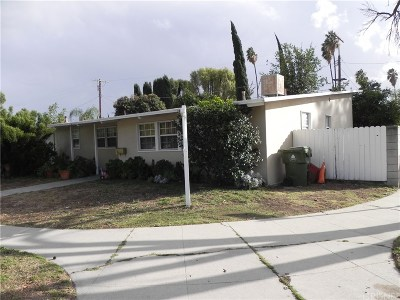 Reseda Single Family Home For Sale: 19560 Hemmingway Street