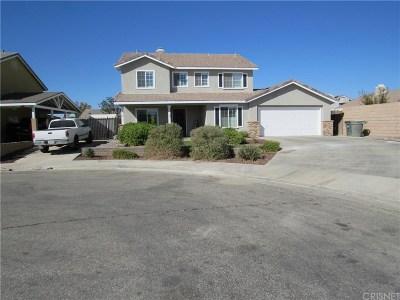 Rosamond Single Family Home For Sale: 2145 Candlebush Court