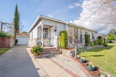Monrovia Single Family Home For Sale: 2027 Graydon Avenue