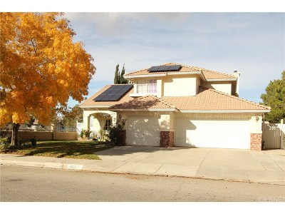 Palmdale Single Family Home For Sale: 3019 Conestoga Canyon Road