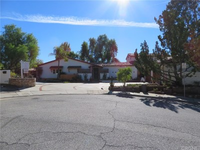 Calabasas Single Family Home For Sale: 22740 Carsamba Drive