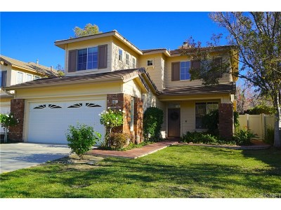 Simi Valley Single Family Home For Sale: 2652 Blossom Street