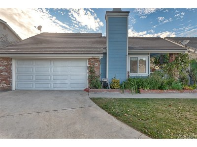 Valencia Single Family Home For Sale: 25801 Espinoza Drive