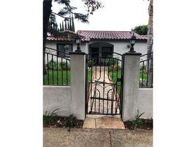 Single Family Home For Sale: 15737 Covello Street