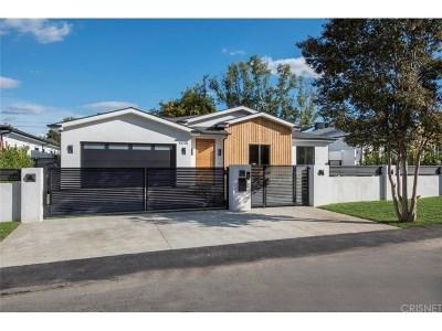 Sherman Oaks Single Family Home For Sale: 4648 Halbrent Avenue