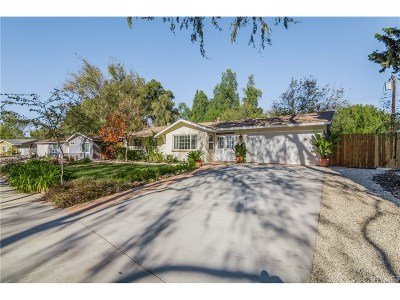 Thousand Oaks Single Family Home For Sale: 717 Calle Pensamiento
