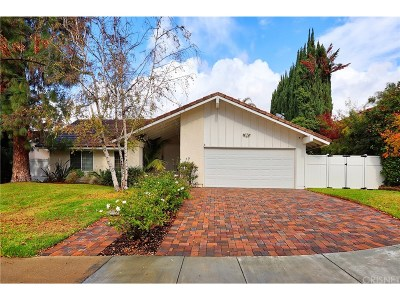 Westlake Village Single Family Home For Sale: 2929 Fall River Circle