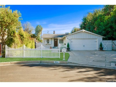 Tarzana Single Family Home Active Under Contract: 5644 Topeka Drive