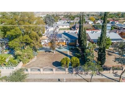 San Fernando Single Family Home For Sale: 11758 Glenoaks Boulevard