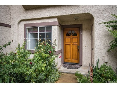 Calabasas Condo/Townhouse For Sale: 5534 Las Virgenes Road #116