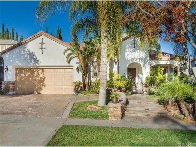 Saugus Single Family Home For Sale: 28878 Rock Canyon Drive