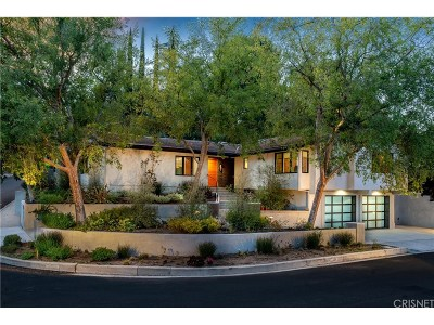 Encino Single Family Home For Sale: 16305 Tudor Drive