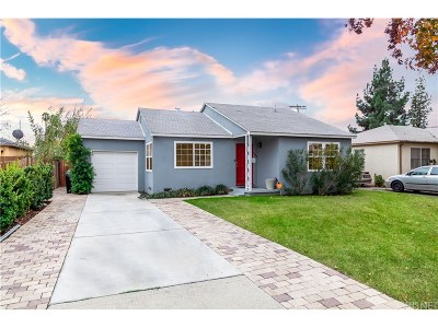 Single Family Home For Sale: 16048 Valerio Street