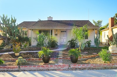 Burbank Single Family Home For Sale: 1821 North Naomi Street