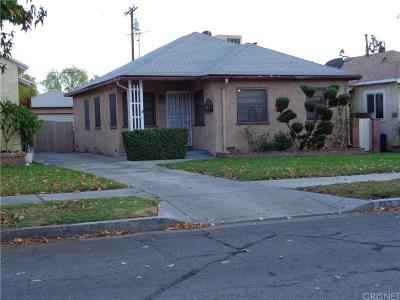 San Fernando Single Family Home For Sale: 862 Fermoore Street