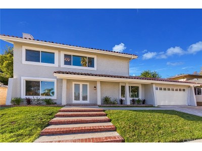 Los Angeles County Single Family Home Active Under Contract: 23832 Del Cerro Circle