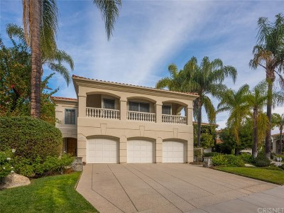 Calabasas Single Family Home For Sale: 23315 Park Soldi
