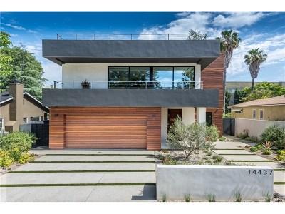 Sherman Oaks Single Family Home For Sale: 14437 Greenleaf Street