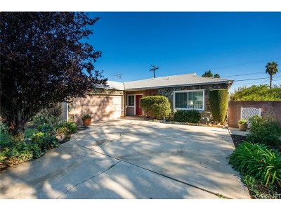 Reseda Single Family Home For Sale: 7006 Tunney Avenue
