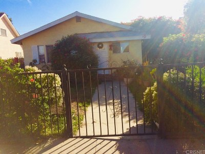 Los Angeles Single Family Home For Sale: 1238 59th.st.