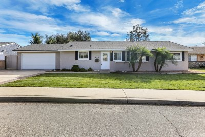 Simi Valley Single Family Home For Sale: 1690 Ahart Street