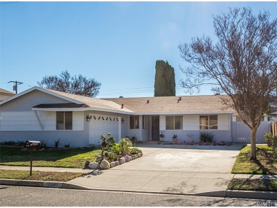 Simi Valley Single Family Home For Sale: 2440 Pierce Court