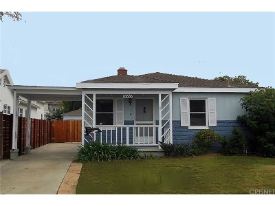 Single Family Home For Sale: 10808 Tabor Street