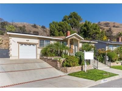 Burbank Single Family Home For Sale: 7850 Shadyspring Drive