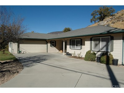 Tehachapi Single Family Home For Sale: 29500 Butterfield Way