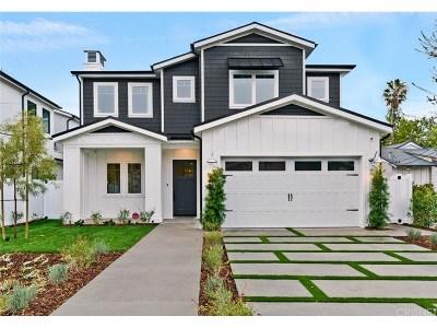 Sherman Oaks Single Family Home For Sale: 4709 Cedros Avenue