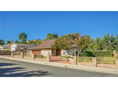 Porter Ranch Single Family Home For Sale: 18675 Cumnock Place