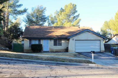 Canyon Country Single Family Home For Sale: 18820 Wellhaven Street