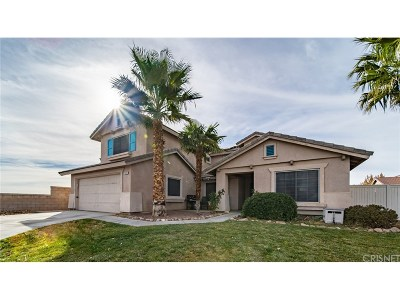 Rosamond Single Family Home For Sale: 2009 Eastwind Court