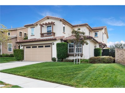 Saugus Single Family Home For Sale: 22580 Lamplight Place