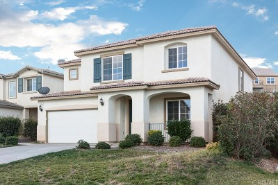 Palmdale Single Family Home For Sale: 2714 Chicory Lane