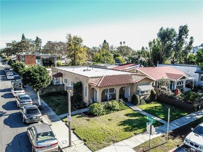 Culver City Single Family Home For Sale: 3404 Caroline Avenue
