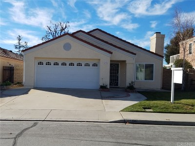 Moorpark Single Family Home For Sale: 15390 Braun Court
