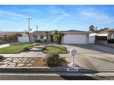 Simi Valley Single Family Home For Sale: 2043 Hurles Avenue
