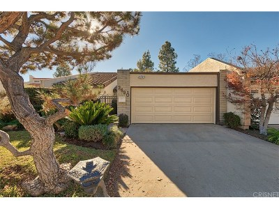 Westlake Village Condo/Townhouse For Sale: 2690 Lakewood Place