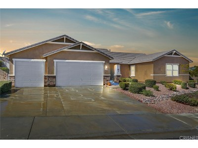 Palmdale Single Family Home For Sale: 41631 Sherry Way