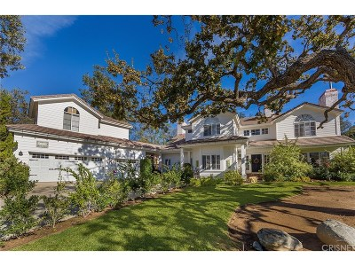 Westlake Village Single Family Home For Sale: 1374 Falling Star Avenue